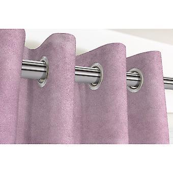 McAlister tekstiilit Matt lila violetti sametti verhot