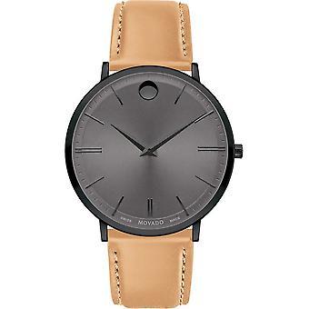 Movado - Wristwatch - Men - 0607378 - ULTRA SLIM - Quartz Watch
