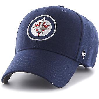 47 fire Adjustable Cap - MVP Winnipeg Jets bright navy