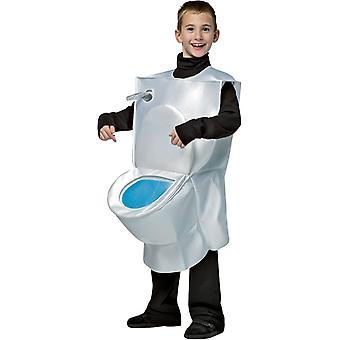 Toilet kind kostuum
