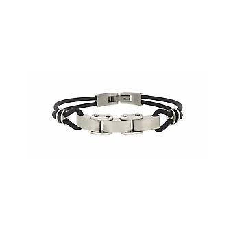 MANUEL ZED Rubber Cord Bracelet