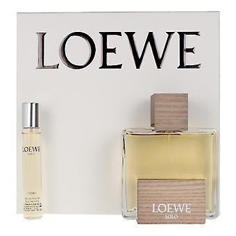 Men's Parfüm Seti Solo Cedro Loewe (2 adet)