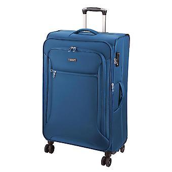d&n Línea de viaje 6404 Carro L, 4 ruedas, 78 cm, 100 L, Azul