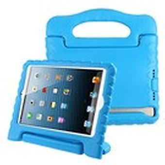 Blue Handbag Kids Drop-resistant Protector Cover for iPad Air (A1474, A1475, A1476)