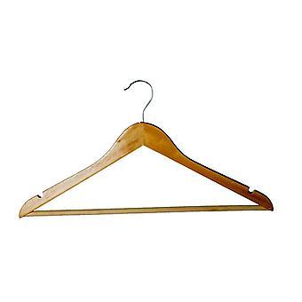 H & L Russel Eucalyptus Wood Clothes Hanger