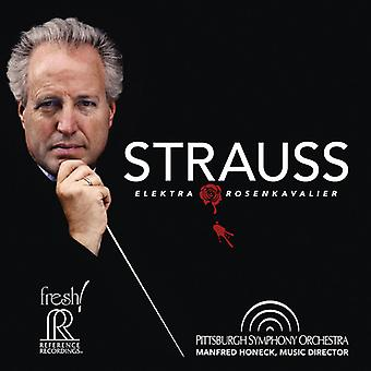 Strauss / Pittsburgh Symphony Orchestra / Honeck - Richard Strauss: Elektra and Der Rosenkavalier [SACD] USA import