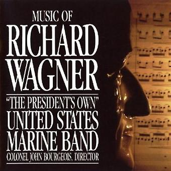 US Marine Band - musik av Richard Wagner [CD] USA import