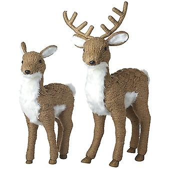 Standing Deer And Stag