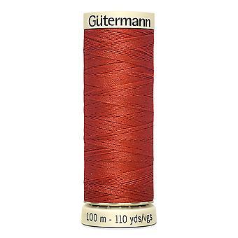 Gutermann sy-alle 100% polyestertråd 100m hånd- og maskinfarvekode - 589