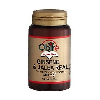 Ginseng and Royal Jelly 60 capsules of 600mg
