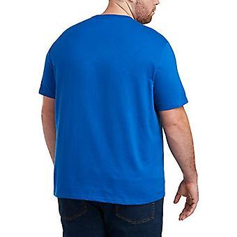 Essentials Men's Big & Tall 2-Pack Short-Sleeve Crewneck Pocket T-Shir...