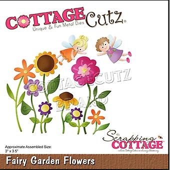 Scrapping Cottage Fairy Garden Flowers CC-623)