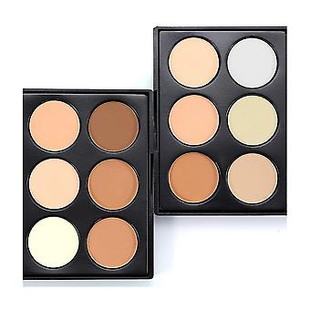 Eyeshadow Face Powder Foundation Blusher Contour Makeup