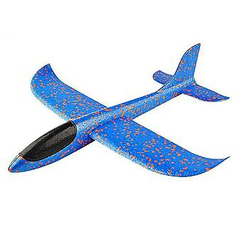 Outdoor Hand Throwing  Plane 35cm Flying Launch Sports Glider Aircraft - Gliding Boys Fun Game