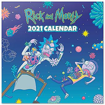 Rick and Morty Calendar 2021 Official Calendar 2021, 12 months, original English version.