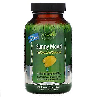 Irwin Naturals, Sunny Mood, 75 Liquid Soft-Gels