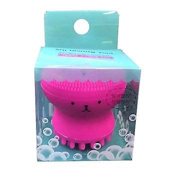 Kleine Octopus Gesichtsreinigungsbürste - Porenreiniger, Peeling-Scrubber für die Haut