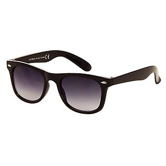 Sunglasses Unisex black with grey lens (044 P)