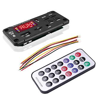 Big Color Screen Car Audio -usb Tf, Fm Radio Module Langaton Bluetooth, Dekooderi