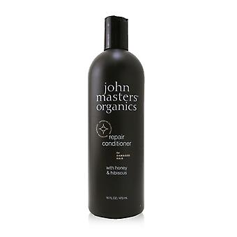 Repair Conditioner For Damaged Hair With Honey & Hibiscus - 473ml/16oz