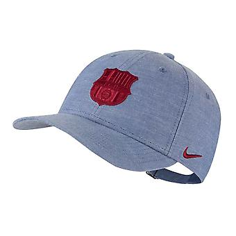 2020-2021 Barcelona L91 Chambray Cap (College Navy)