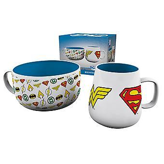 DC Comics Logos Ontbijtset
