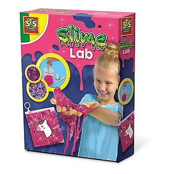 SES Creative Children's Unicorn Slime Lab Playset Pink (15013)