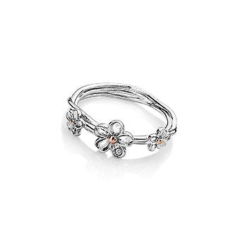 Hot Diamonds Sterling Silver Forget Me Not Ring DR214
