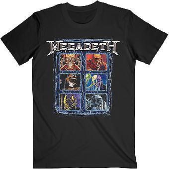 Megadeth Vic Head Grip Virallinen Tee T-paita Unisex