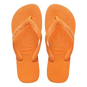 Havaianas Top Flip Flops - Eloisa Oranssi - Iso-Britannia 7.5/8