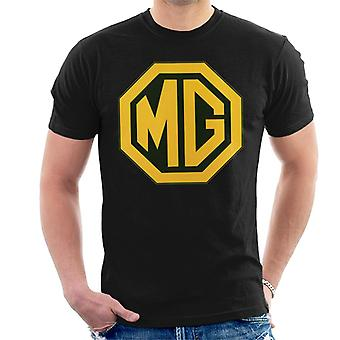 MG Gold Logo British Motor Heritage Men's T-Shirt