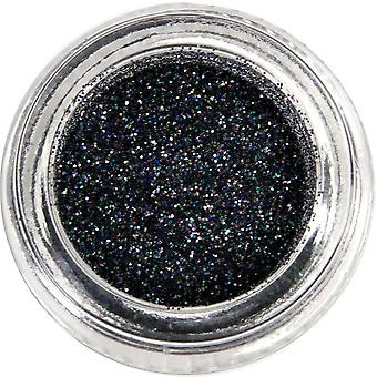 MoYou London Nail Art Glitter Pots - Gotham Black 15ml (690753)