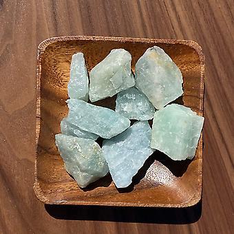 Cristal de pedra crua aquamarina de grau bruto