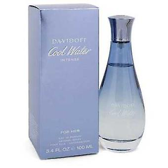 Agua Fría Intensa Por Davidoff Eau De Parfum Spray 3.4 Oz (mujeres) V728-547658