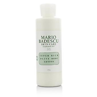 Mario Badescu Super Rich Olive Body Lotion - kaikki iho tyypit 177ml / 6oz