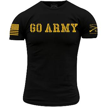 Grunt Style Army - Go Army T-paita - Musta