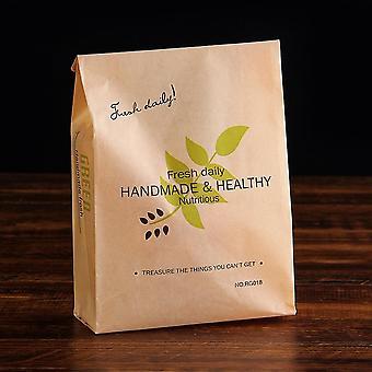 Papel Kraft, Embalagem de Alimentos, embalagem de bolo Laminando sacos à prova de óleo em verde