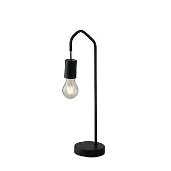 Arch Tafellamp, Zwart, E27