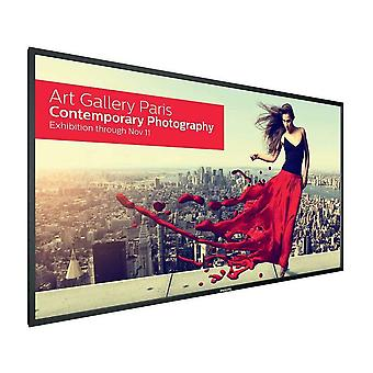 "PHILIPS 75"" Edge LED,UHD 4K Display U-Line 75BDL3000 Interaktiv digital skiltning"