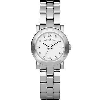 Marc Jacobs MBM3055 26mm Silver Steel Bracelet & Case Quartz Ladies Watch