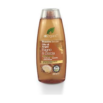 Organic Moroccan Argan Oil - Bath & Shower 75 ml of gel