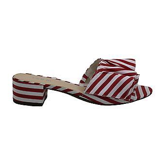 Bar III Womens Janie Fabric Open Toe Casual Slide Sandals