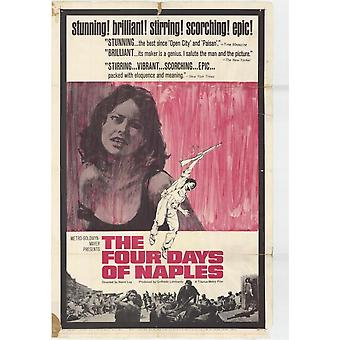 The Four Days of Naples Movie Poster (11 x 17)