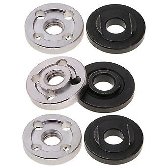 Lock Nuts Flange For Nut Inner/ Outer Kit, Angle Grinder Tool Accessories