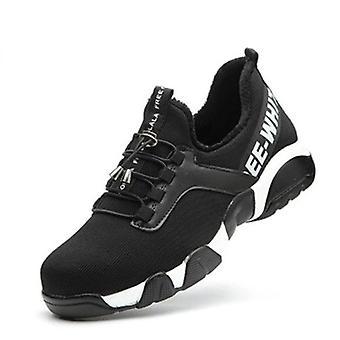 Ocelová toe lehké prodyšné reflexní ležérní ochranné boty