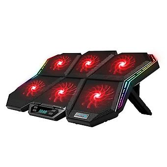 Coolcold Gaming Rgb Laptop Cooler / răcire Pad Notebook Cooler Stand cu șase