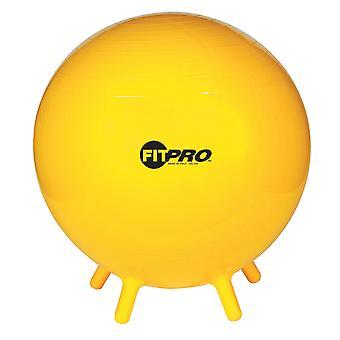 Bola Fitpro con patas de estabilidad, 65cm