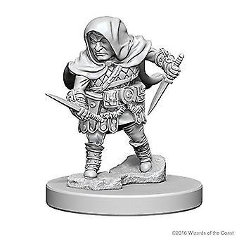 D&D Nolzur's Marvelous Unpainted Miniatures Halfling Male Rogue (Pack of 6)