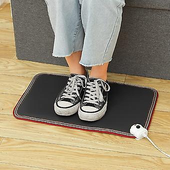 Foot Warmer Mat Electric Heating  30x50cm Plate Waterproof Heater Pad For Home