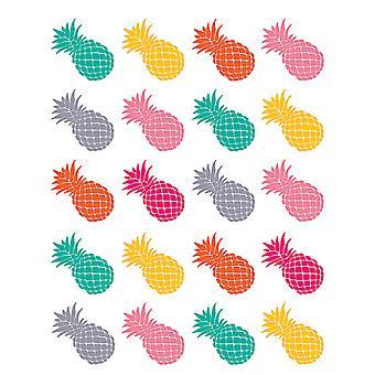 Pegatinas de piñas de ponche tropical
